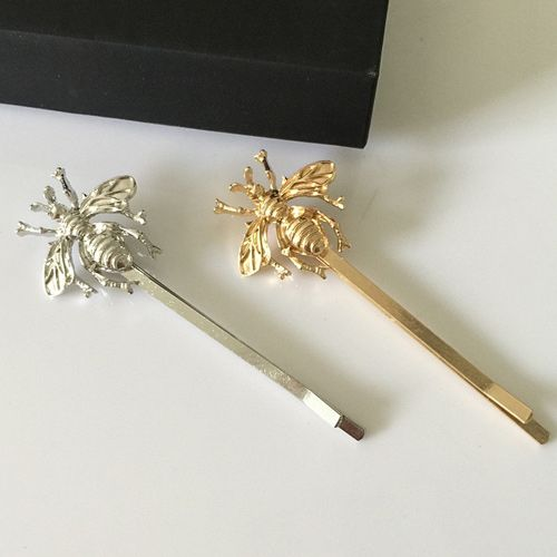 Hair Accessory Side Clip Bee Hairpin