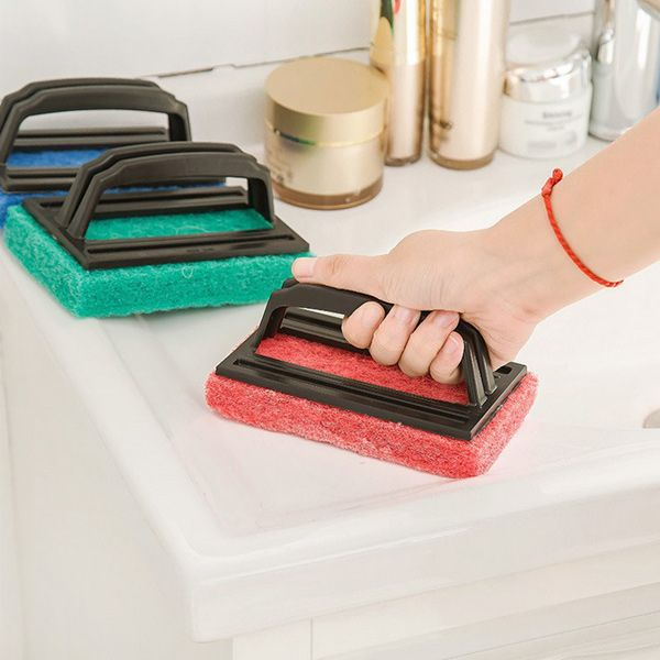 Kitchen Water Groove Cleaning Sponge Brush