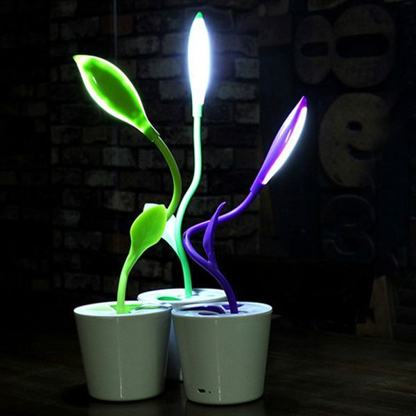 Creative LED Charging Energy Saving Eye Protection Desk Lamp