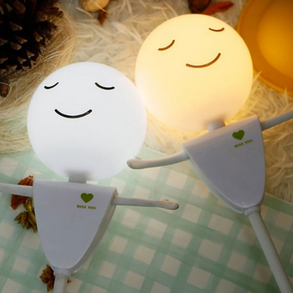 Creative Induction LED USB Charging Scarecrow Micro Landscape Night Light