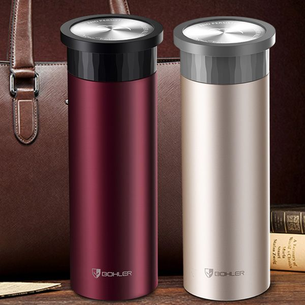 High Quality 420ML Stainless Steel Business Water Thermos Bottle