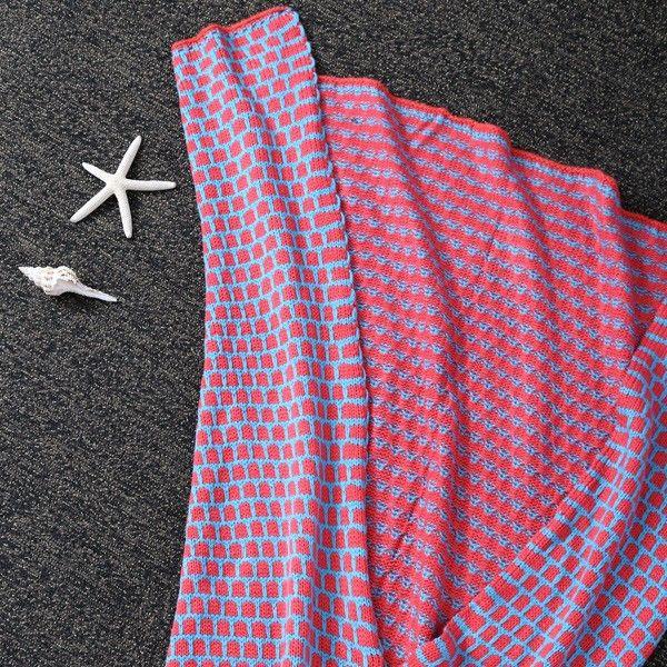 Comfortable Sleeping Bag Kids Wrap Sofa Mermaid Blanket