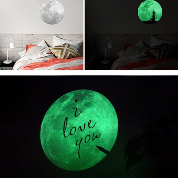 Home Decoration Moon Night I Love You Noctilucence Wall Sticker