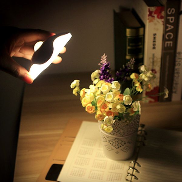 Portable Novelty Smart Sense USB Bedside LED Night Light