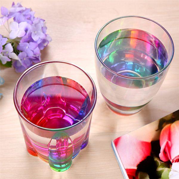 Drinkware Rainbow Refraction Glass Water Beer Mug