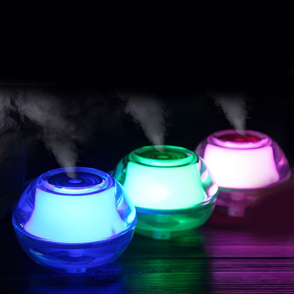 Mini USB Humidifier Multicolor Crystal Night Light