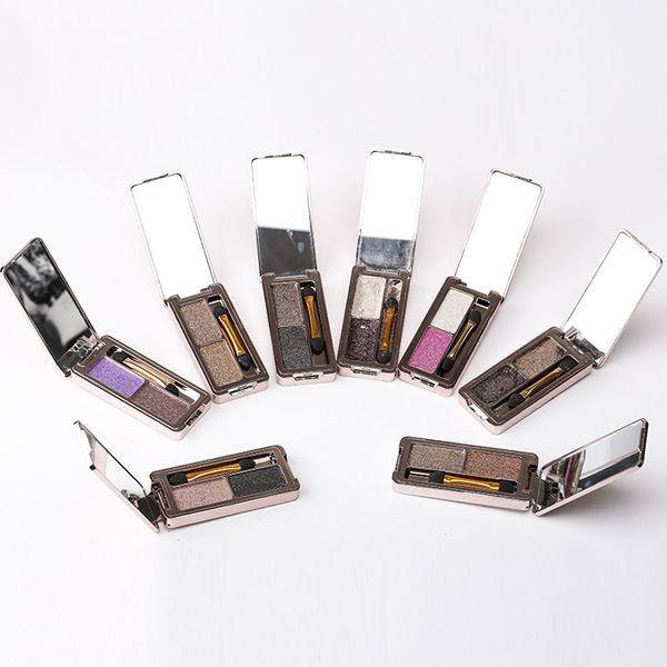 2 Colours Diamond Eyeshadow Palette Kit