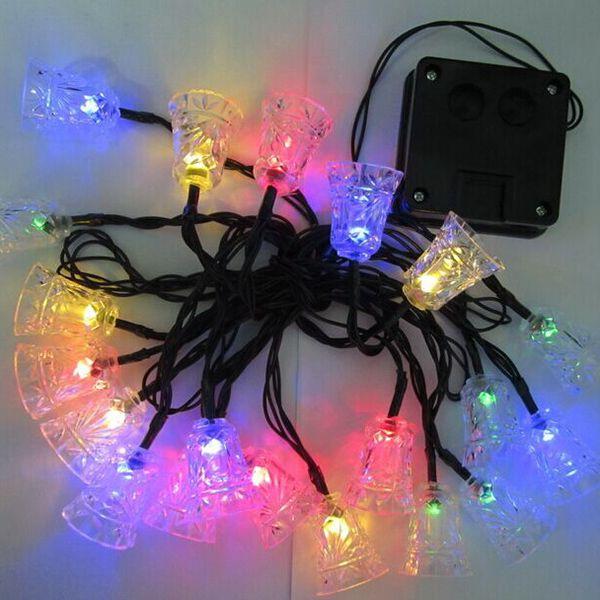 Solar Power Bell LED String Light Christmas Decoration