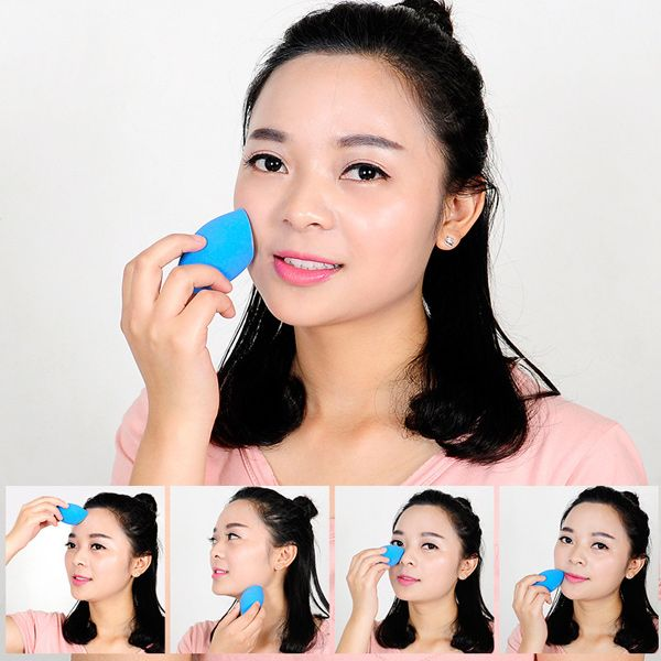 Cut Egg Shape Water Swellable Beauty Blender