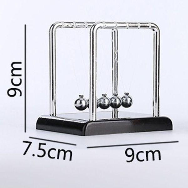 Metal Balance Perpetual Wiggler Newton Cradle Pendulum Ball
