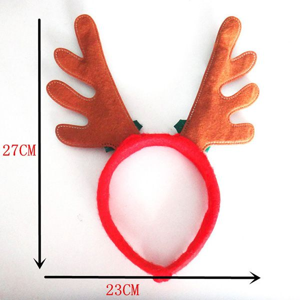 Christmas Hair Band Antlers Head Hoop Buckle Cartoon