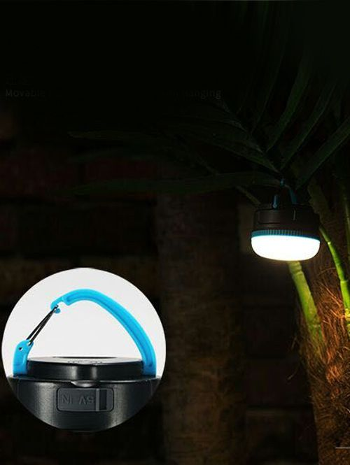 Outdoor LED Light Adjustable USB Charge Hanging Night Lamp