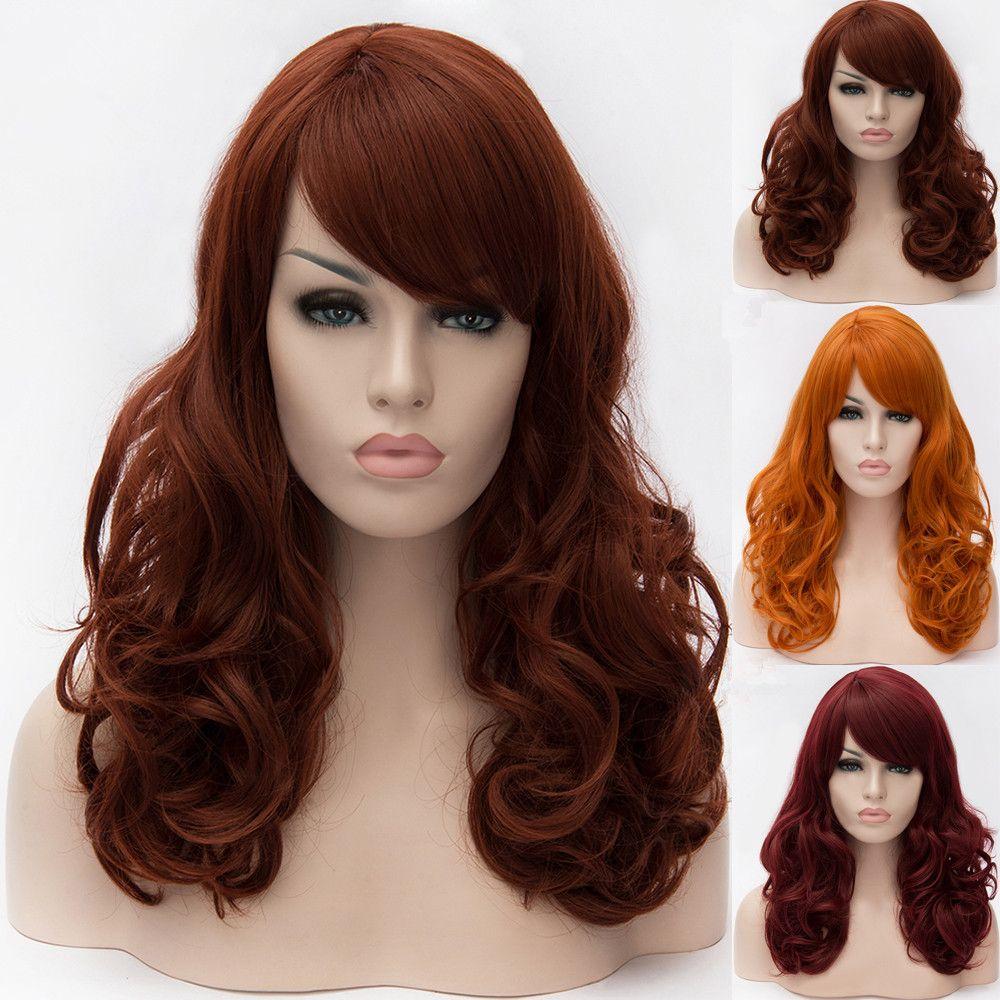 Adiors Long Side Bang Shaggy Wavy Synthetic Wig