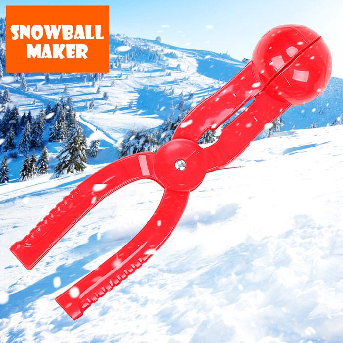1 PCS PE Snowball Clip 7cm Diameter Spoon