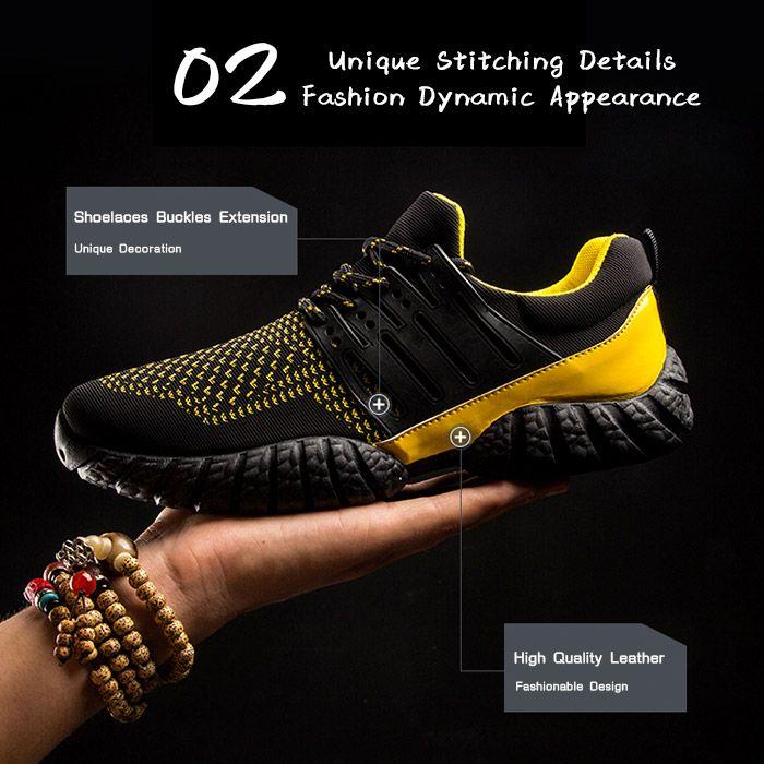 Elastic Cloth Athletic Shoes