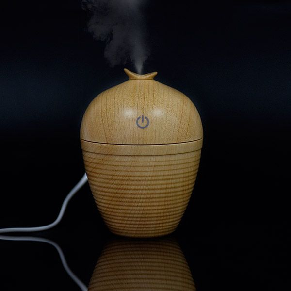 Ultrasonic Aroma Woodgrain Mist Maker Air Humidifier