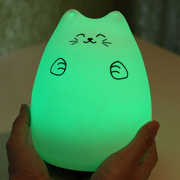 Remote Control LED Cartoon Color Changing Night Light