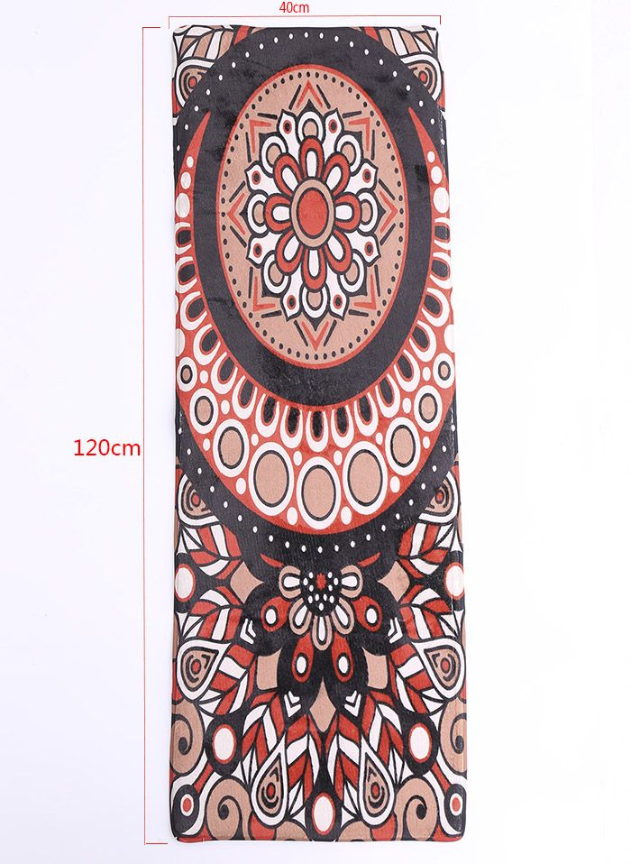 multicolore boh me style fleur impression antid rapants flanelle tapis. Black Bedroom Furniture Sets. Home Design Ideas