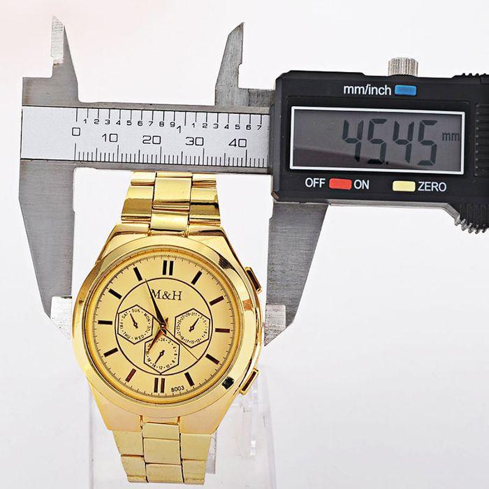Alloy Strap Analog Wrist Quartz Watch