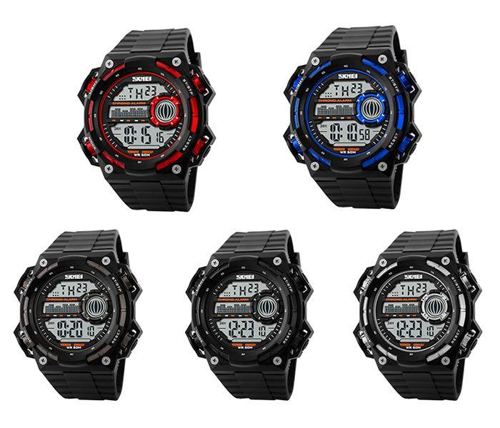 SKMEI Outdoor Alarm Luminous Digital Watch