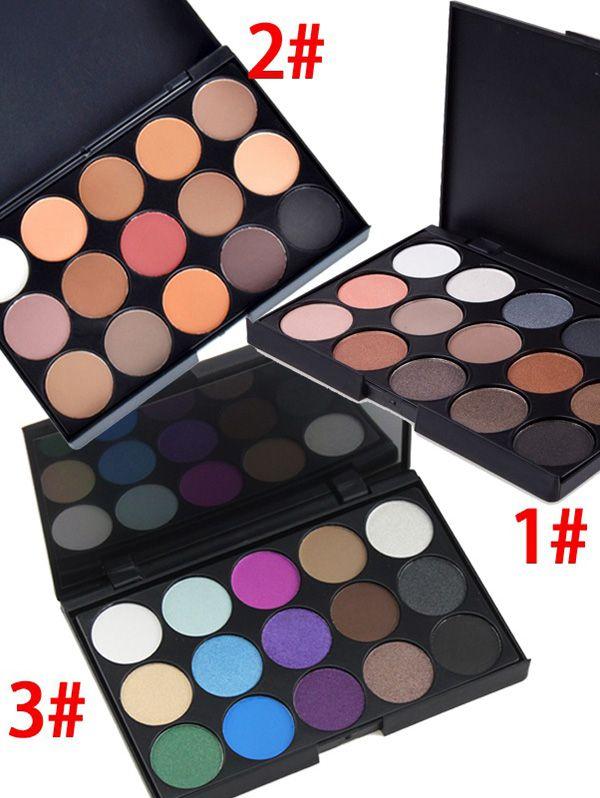 15 Colours Shimmer Matte Eyeshadow Palette