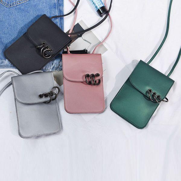 Metal Rings Mini Crossbody Bag