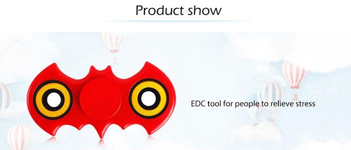 Anti-Stress Focus Toy Bat Fidget Spinner