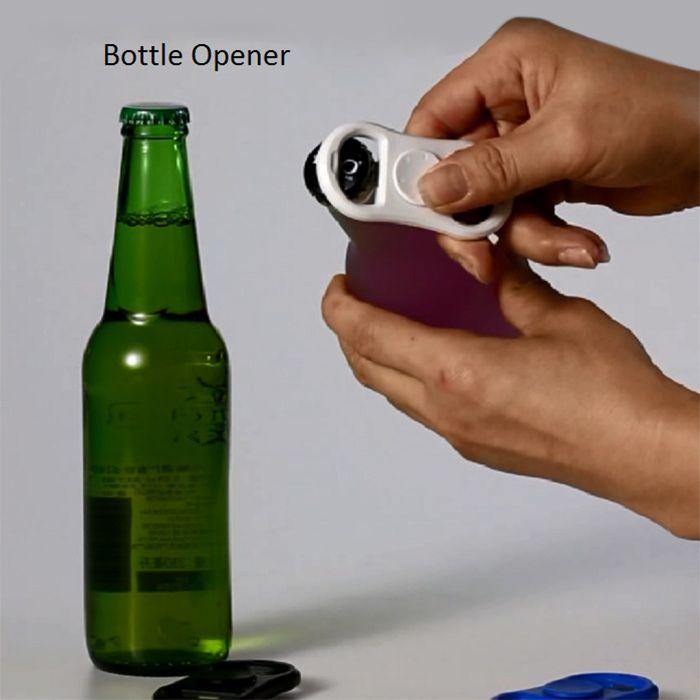 Fiddle Toy Fidget Spinner with Bottle Opener