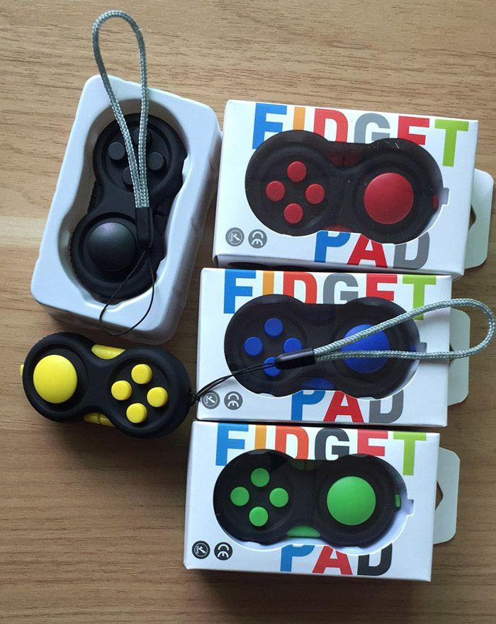 Stress Relief Finger Toy EDC Fidget Pad Gamepad