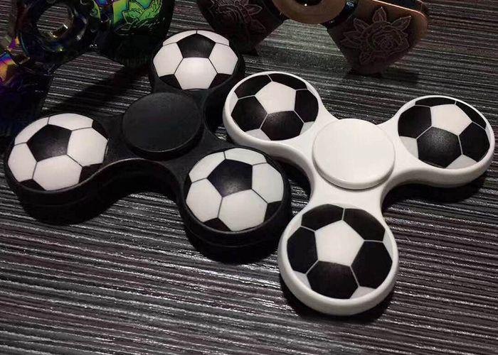 Fiddle Toy Soccer Pattern Finger Gyro Fidget Spinner