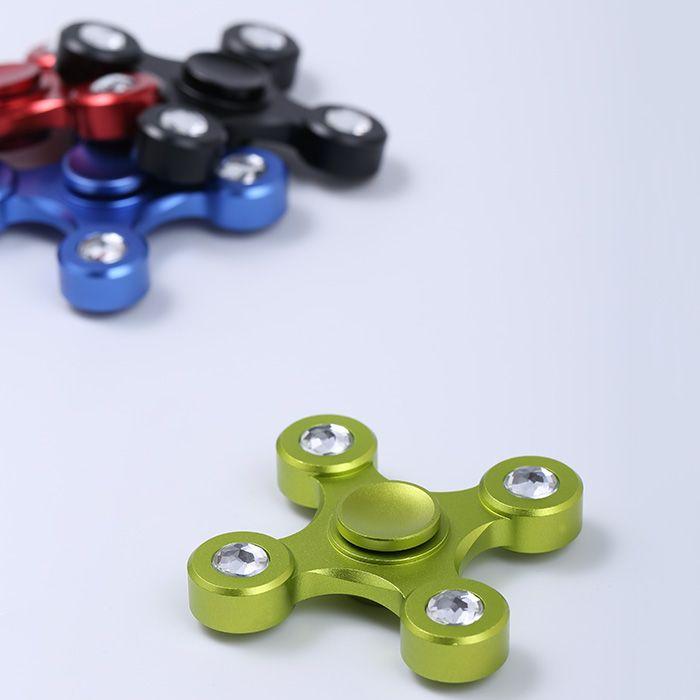 High Speed Focus Toy Alloy EDC Fidget Spinner