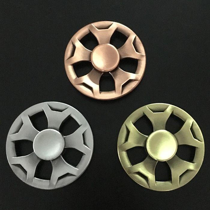 Finger Gyro Fidget Metal Spinner Anti-stress Plaything