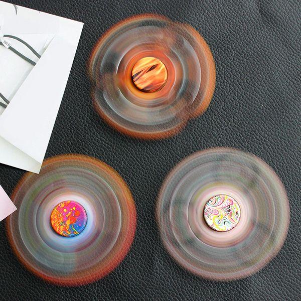 Paint Splatter Printed Focus Toy Fidget Spinner