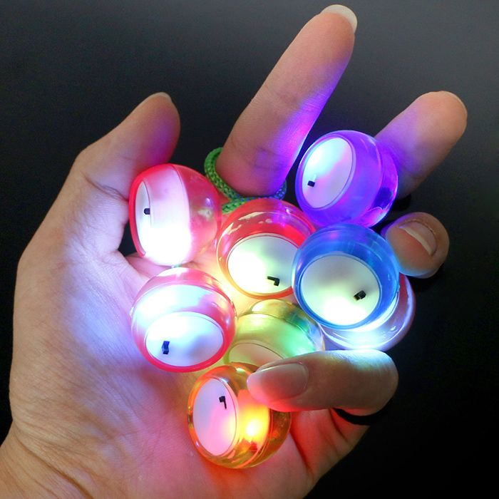 Fidget Finger Yoyo with Color Changing LED Lights