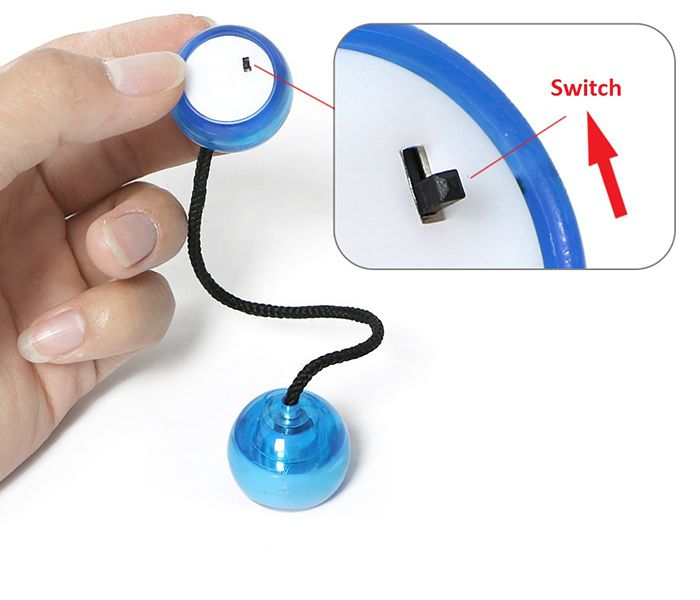 Fidget Finger Yoyo with Color Changing LED Lights