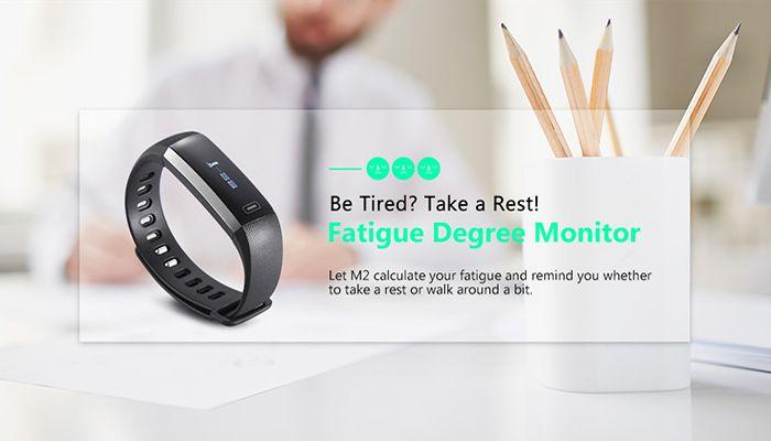 M2 Smart Bracelet with Blood Pressure Oxygen Measure Heart Rate Monitor