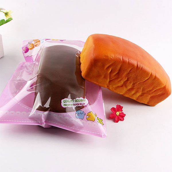 Pillow Bread Decompression Squishy Charms Toy
