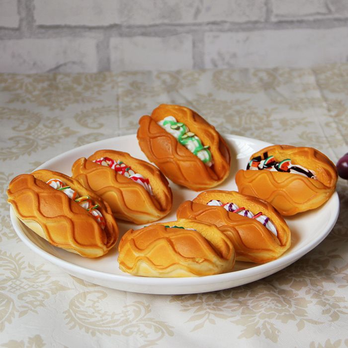 1 Pcs PU Squishy Toy Simulation Butter Bread
