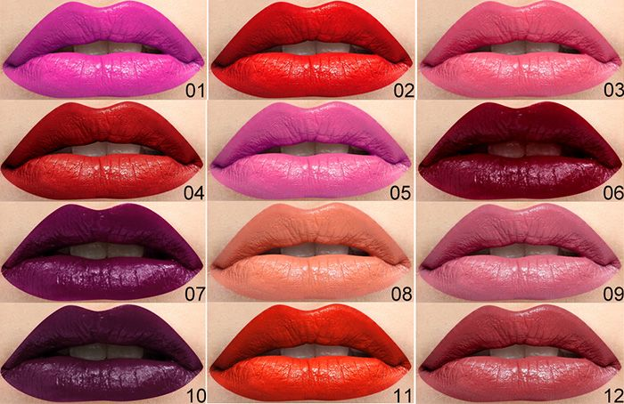Long Lasting Frosted Matte Lipstick