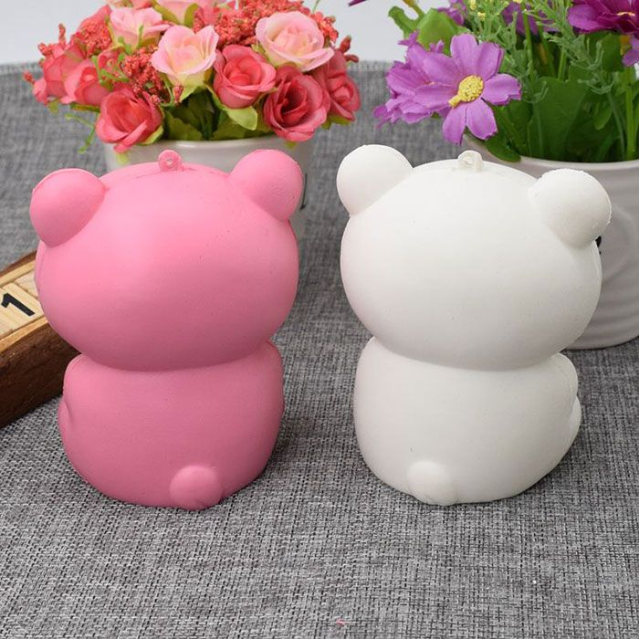 Slow Rising Squishy Toy Stress Relief Simulation Bear