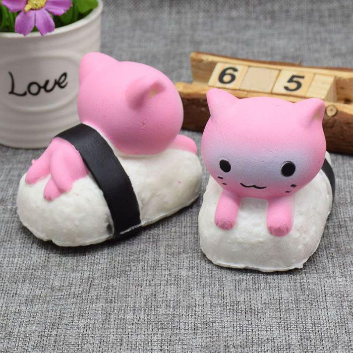 Simulation Sushi Rabbit Animal Slow Rising Squishy Toy