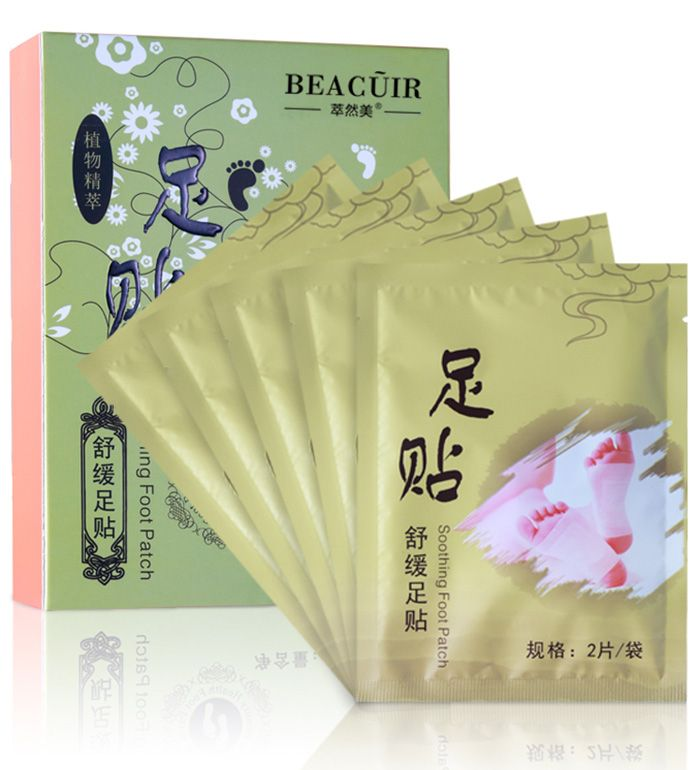Natural Bamboo Vinegar Essence Detox Foot Patch