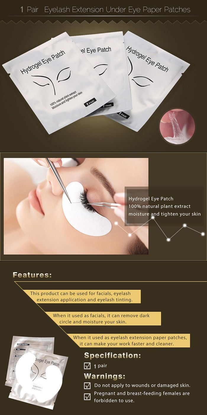 Hydrogel Under Eye Paper Patches