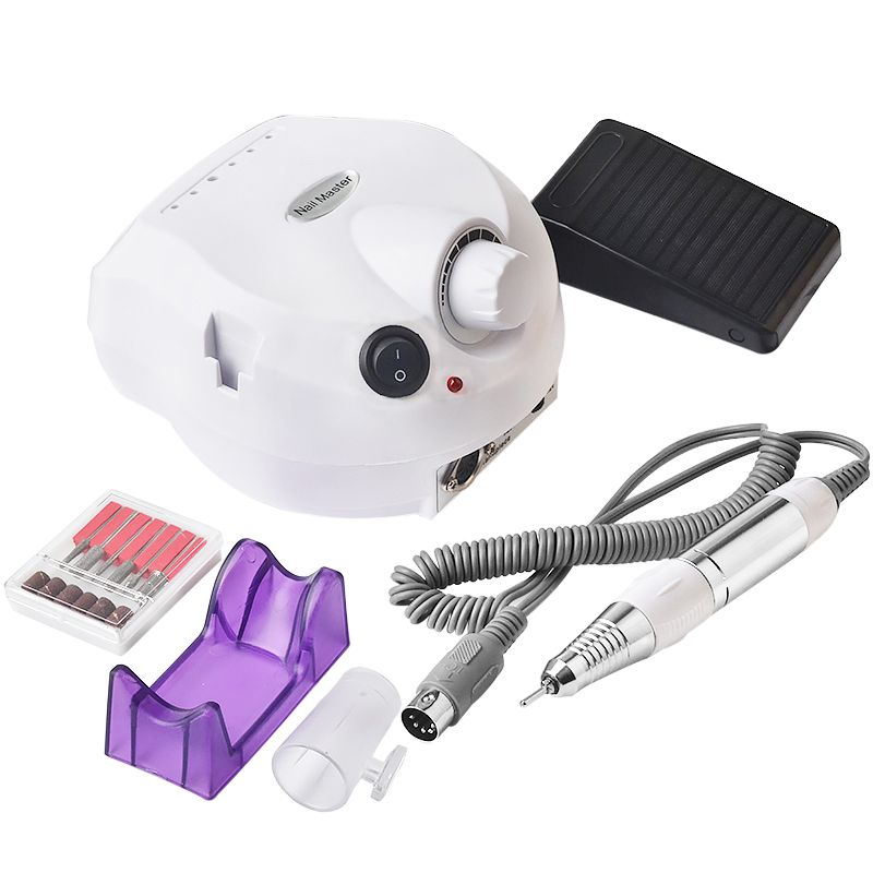 Professional Nail Salon Electric Nail File Drill Manicure Machine Tool Set
