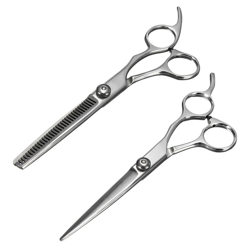 Professional Stainless Steel Hair Scissors Salon Cutting Thinning Hairdressing Shears