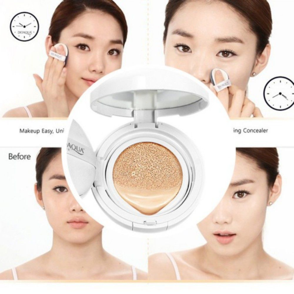 Air Cushion BB Cream SPF50 Sunscreen Concealer Moisturizing Foundation Makeup Bare