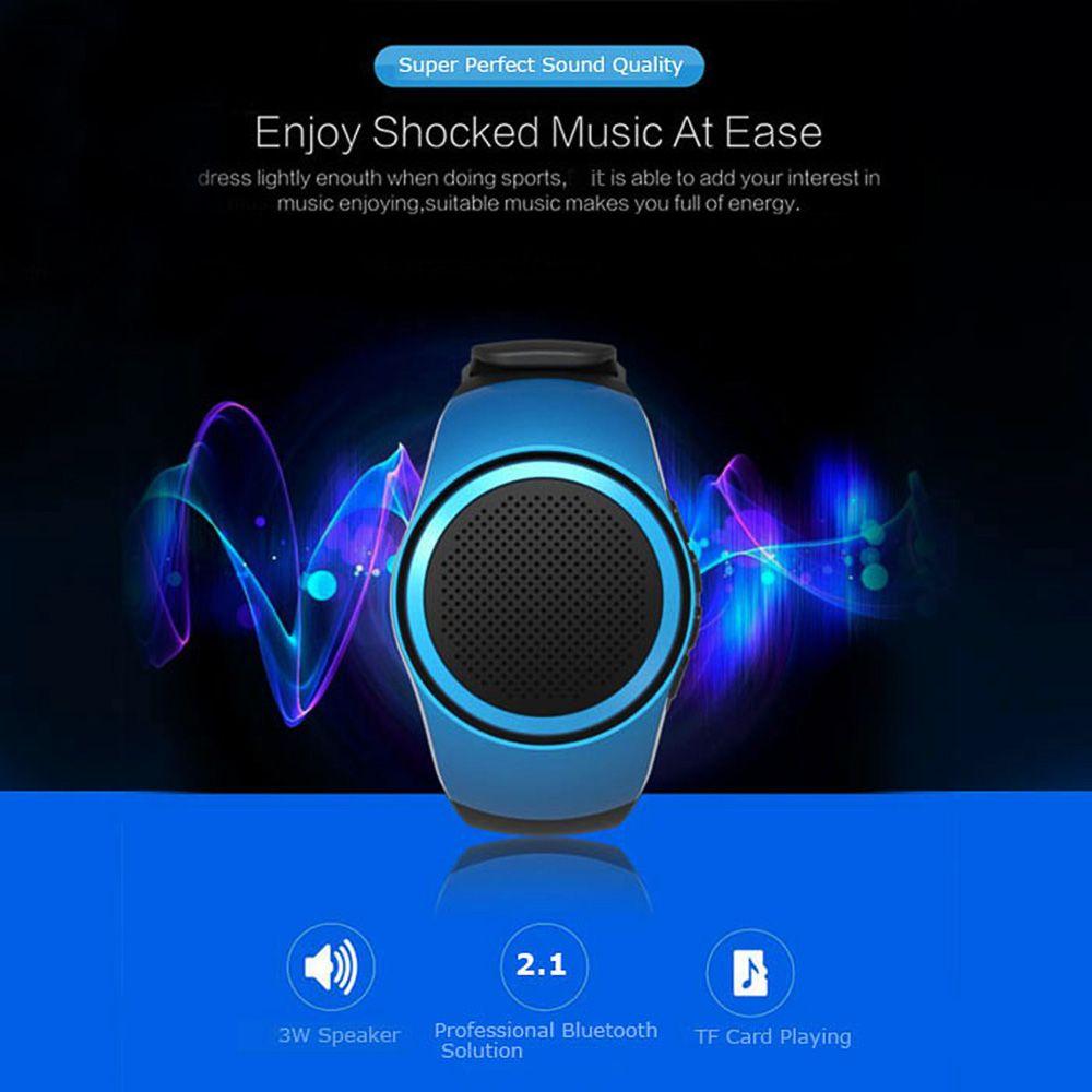 YUHAI Bluetooth 2.1 Watch Style Music Speaker Hands-free Call Wristwatch
