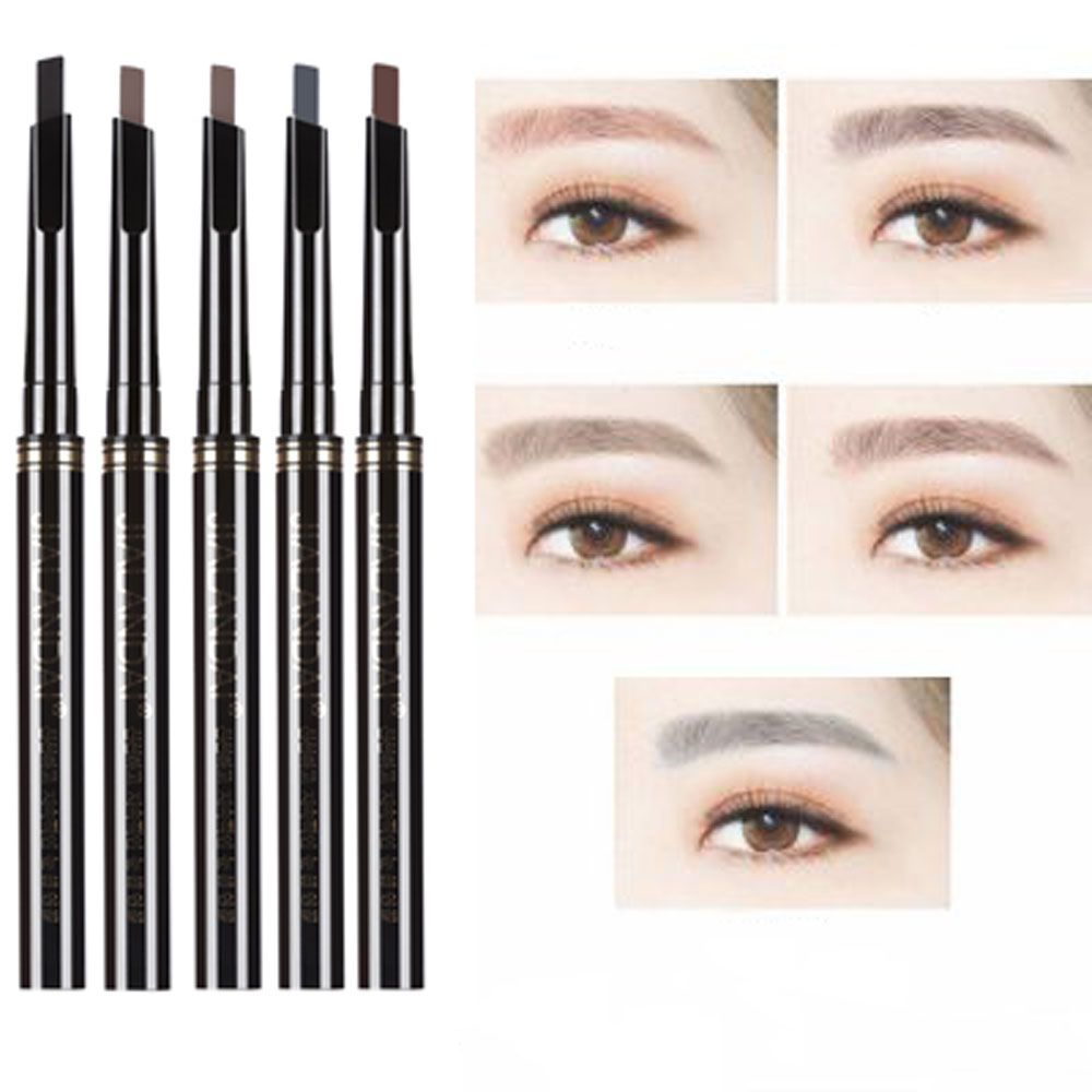 Single Headed Rotary Automatic Pencil Waterproof Long Lasting Makeup Eyebrow Pen