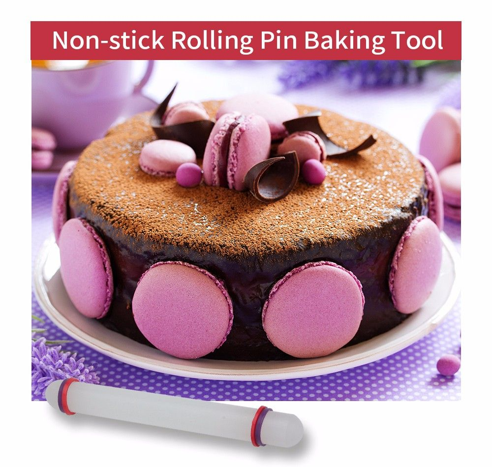 230mm Non-stick Rolling Pin Cake Dessert Baking Tool