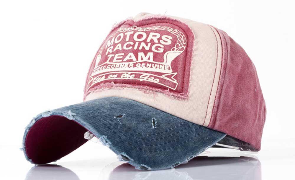 Fashionable Color Block Design Letter Print Sun Protection Hat for Unisex